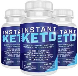instant keto bottle